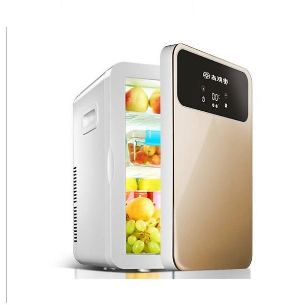 Tủ lạnh mini 20 lít màn hình LCD điều chỉnh nhiệt độ 12v/220v
