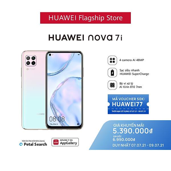 Điện thoại Huawei Nova 7i 8G/128G Sạc nhanh 40W – Hàng Phân Phối Chính Hãng
