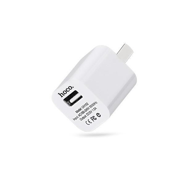 Sạc tường Hoco cho iPhone/ iPad/Samsung/Huawei/Smart Phone cao cấp UH102 – Hàng chính hãng