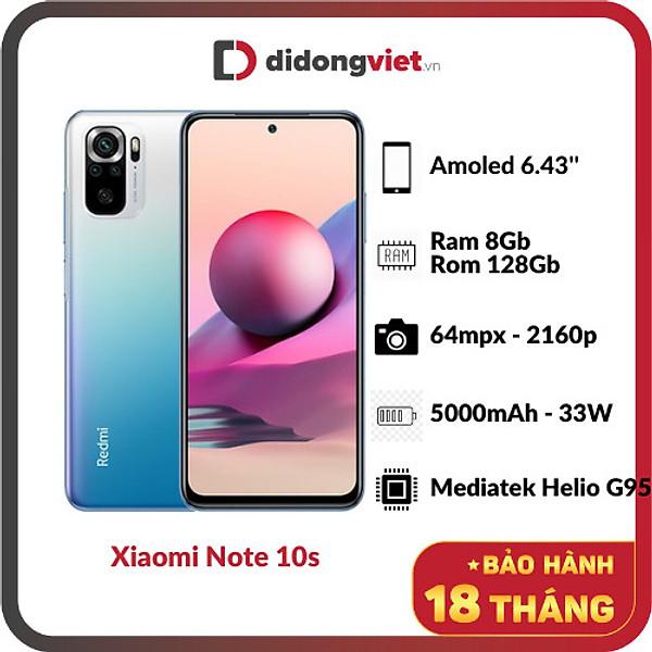 Xiaomi Note 10s (8GB/128GB) –  Hàng Chính Hãng