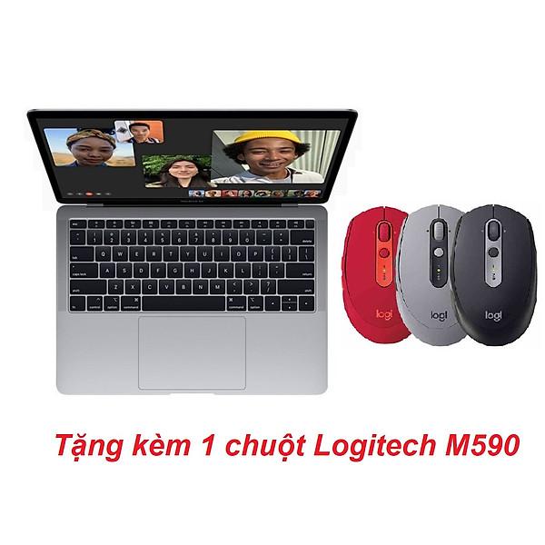 Apple Macbook Air 2020 M1 – 13 Inchs (Apple M1/ 16GB/ 256GB) Màu Xám Tặng kèm 1 chuột Logitech M590 – Hàng Chính Hãng