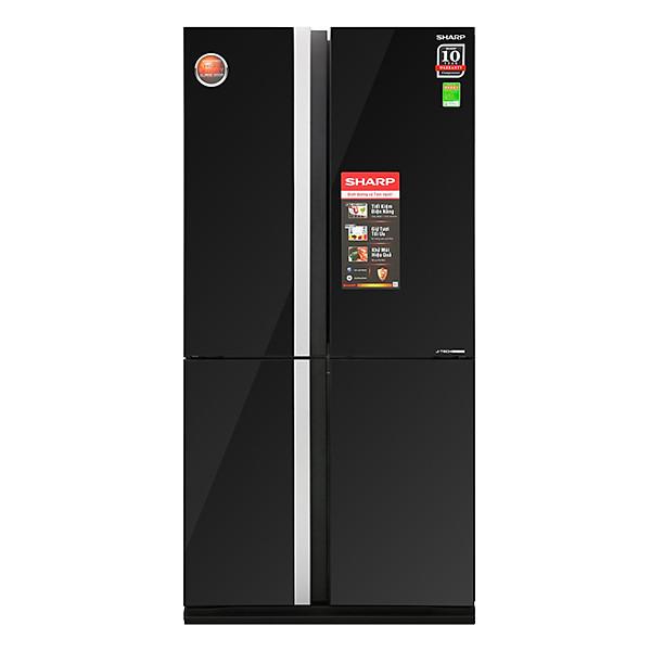 Tủ Lạnh Inverter Sharp SJ-FX688VG-BK (605 lít)