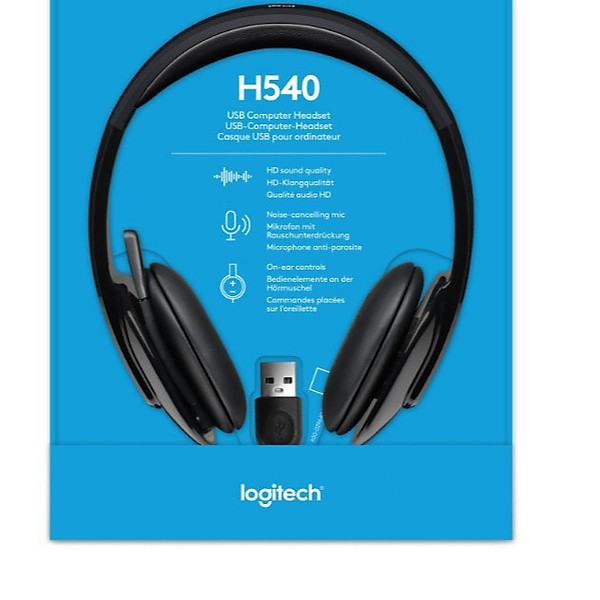 Tai Nghe Logitech H540 New Version – Hàng Chính Hãng