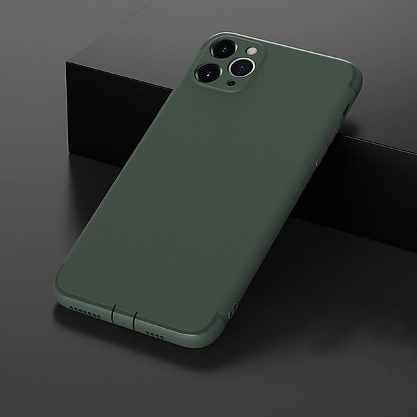 Ốp lưng dẻo chống bụi dành cho iPhone 6 / 6s / 6 Plus / 6s Plus / 7 / 7 Plus / 8 / 8 Plus / X / XR / XS MAX / 11 / 11 Pro / 11 Pro Max / SE 2020 – Hàng chính hãng