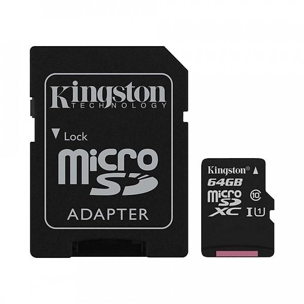Thẻ nhớ Kingston SDCS 64GB – Hàng chính hãng
