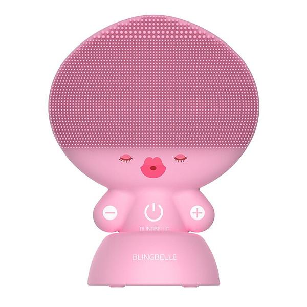 Máy rửa mặt và massage da mặt sóng siêu âm Blingbelle Doll BS026 – Hàng nhập khẩu