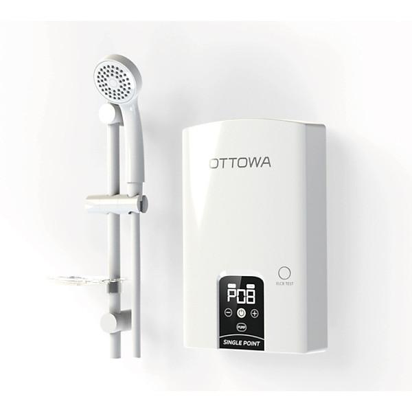 Máy tắm nước nóng OTTOWA TE45P01 – Hàng chính hãng – Có bơm