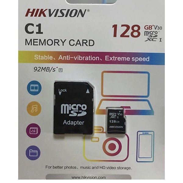 Thẻ nhớ HKVISON 128GB – Hàng chính hãng