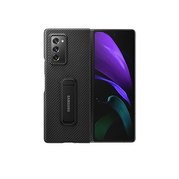 Ốp Lưng Aramid Standing Cover Samsung Galaxy Z Fold 2 / Galaxy Z Fold 2 5G – Hàng Chính Hãng