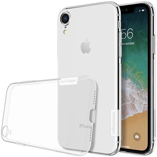 Ốp lưng dẻo dành cho iPhone XR hiệu Nillkin (Trong suốt) – Hàng chính hãng