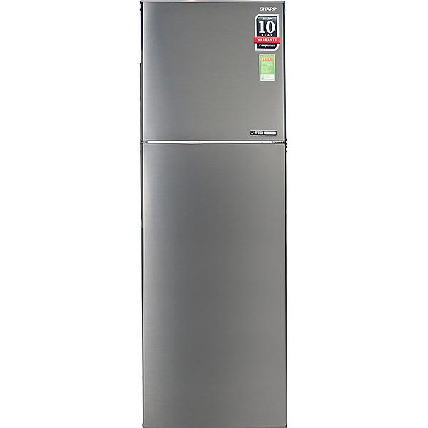 Tủ Lạnh Inverter Sharp SJ-X281E-SL 253 lít
