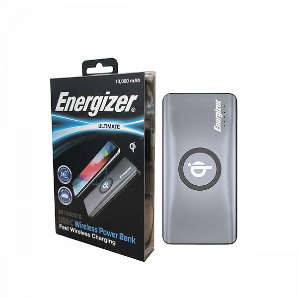 Sạc dự phòng Energizer 10,000mAh /3.7V Li-Polymer – QE10005CQGY – Hàng chính hãng