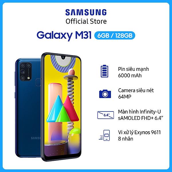 Điện Thoại Samsung Galaxy M31 (6GB/128GB) –  Hàng Chính Hãng