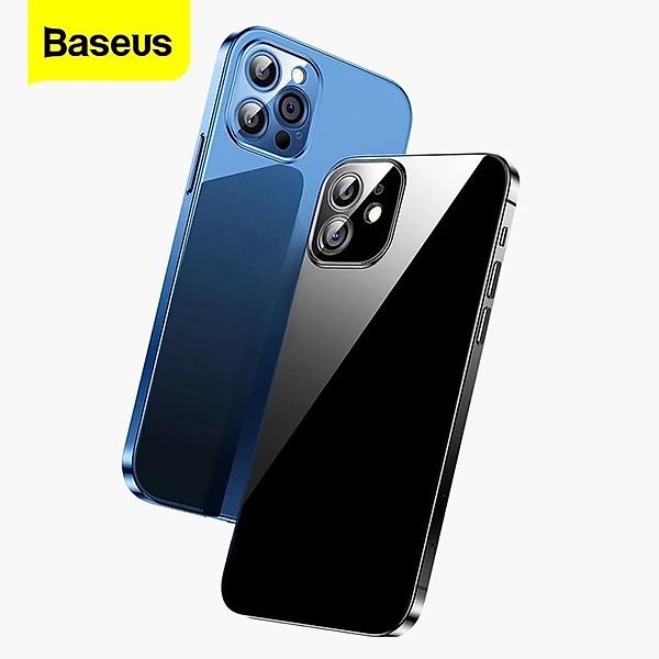 Ốp lưng trong suốt Baseus Simple Case dùng cho iPhone 12 mini / iPhone 12 / iPhone 12 Pro / iPhone 12 Promax (Ultra Slim, High Transparent, Soft TPU Silicone)