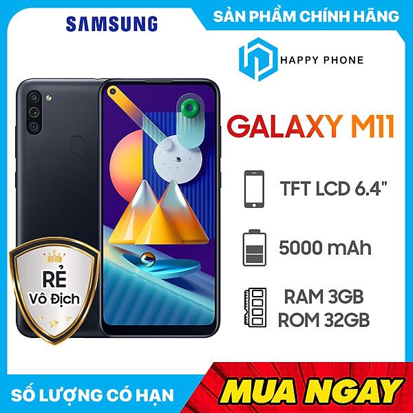Điện Thoại Samsung Galaxy M11 (3GB/32GB) –  Hàng Chính Hãng
