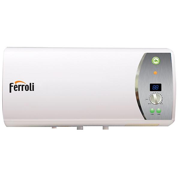 Bình nước nóng Ferroli Verdi SE15L, 3 công suất, thanh đốt tráng bạc, hiển thị nhiệt độ, 2500W