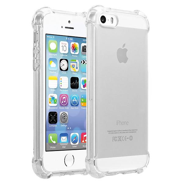 Ốp lưng silicon chống sốc phát sáng Protective Case cho iPhone (Trong suốt) – Hàng nhập khẩu