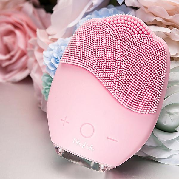 Máy rửa mặt và masage da mặt rung sóng âm ion Blingbelle BS024 – Hàng nhập khẩu