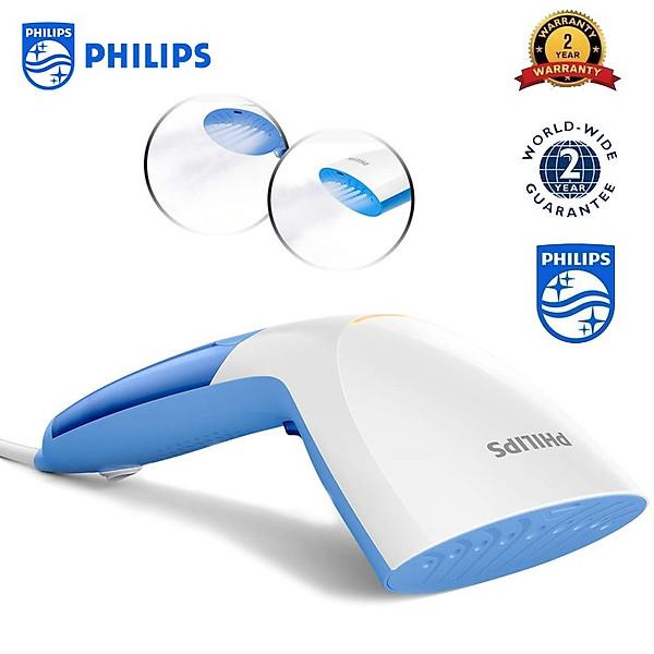 Bàn ủi (là) hơi nước cầm tay Philips GC300 diệt tới 99,9% vi khuẩn – Công suất 1000W – HÀNG NHẬP KHẨU