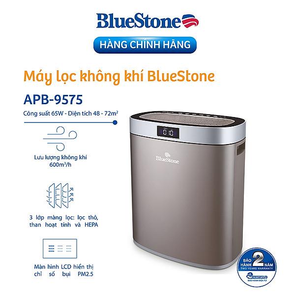 Máy Lọc Không Khí Bluestone Apb-9575 (Diện Tích Sử Dung 72M2 – 65W) – Hàng Chính Hãng