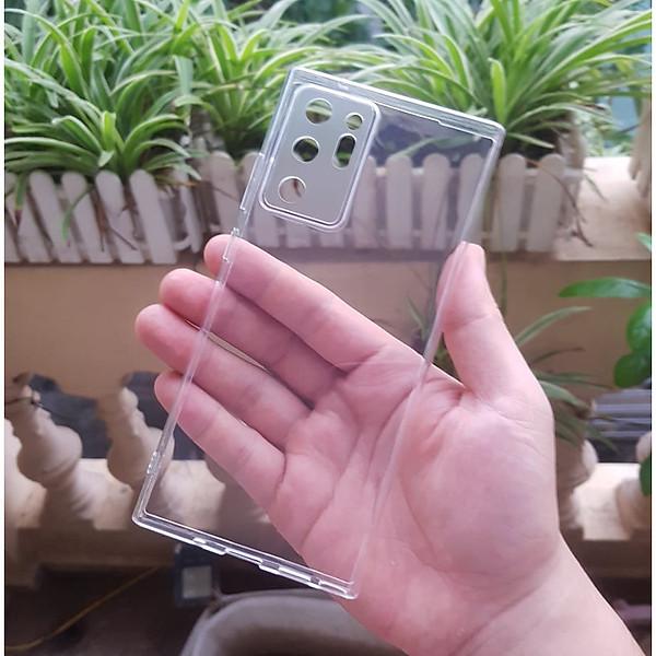 Ốp cho Galaxy Note 20 Ultra/ Note 20 Ultra 5G – Silicon hãng Gor có gờ bảo vệ camera Hàng nhập khẩu
