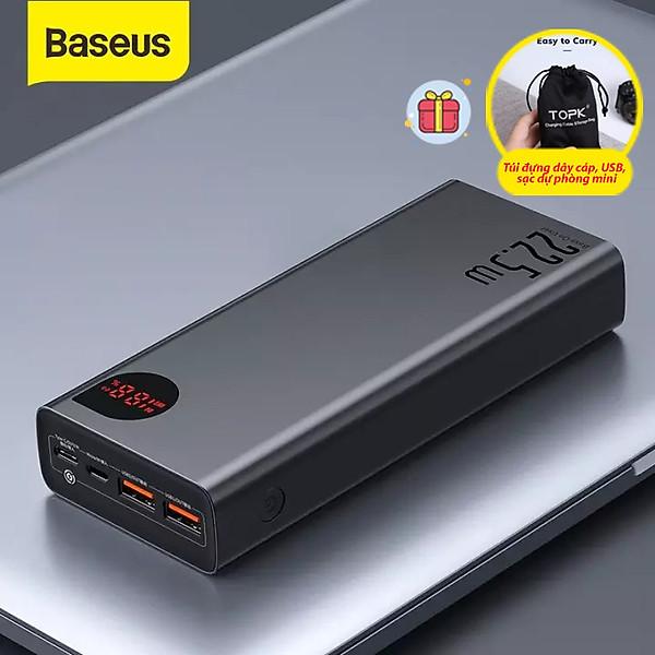 (Hàng chính hãng) Pin sạc dự phòng Baseus dung lượng 30000mAh, sạc nhanh 22.5W công nghệ QC, PD cho iPhone, Samsung, Xiaomi, Huawei,…