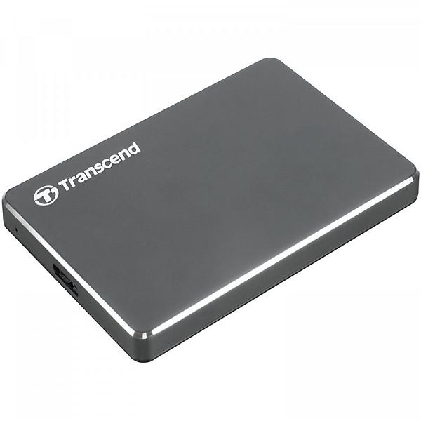Ổ Cứng Di Động Transcend 2TB StoreJet C3N Luxury Slim USB 3.1 – Hàng Chính Hãng