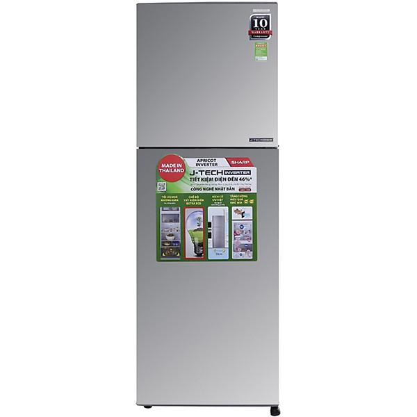 Tủ lạnh Sharp Inverter 224 lít SJ-X251E-SL