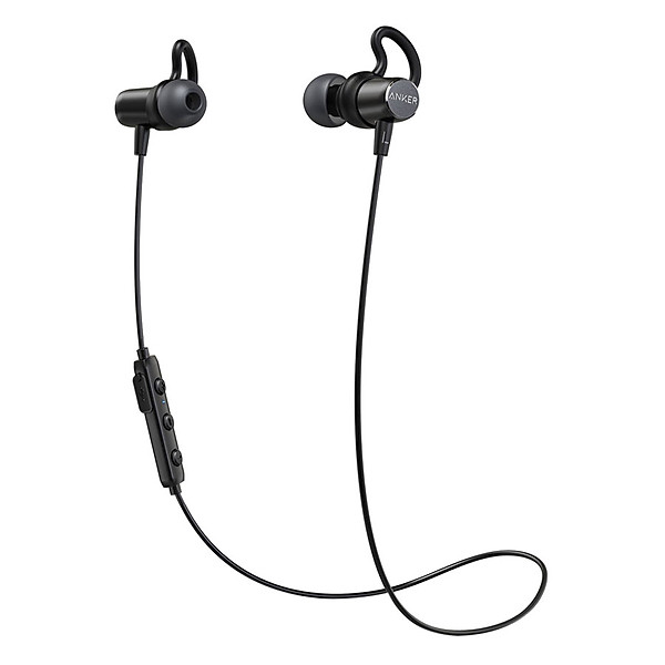 Tai Nghe Bluetooth Nhét Tai Anker SoundBuds Surge A3236 (Đen) – Hàng Chính Hãng