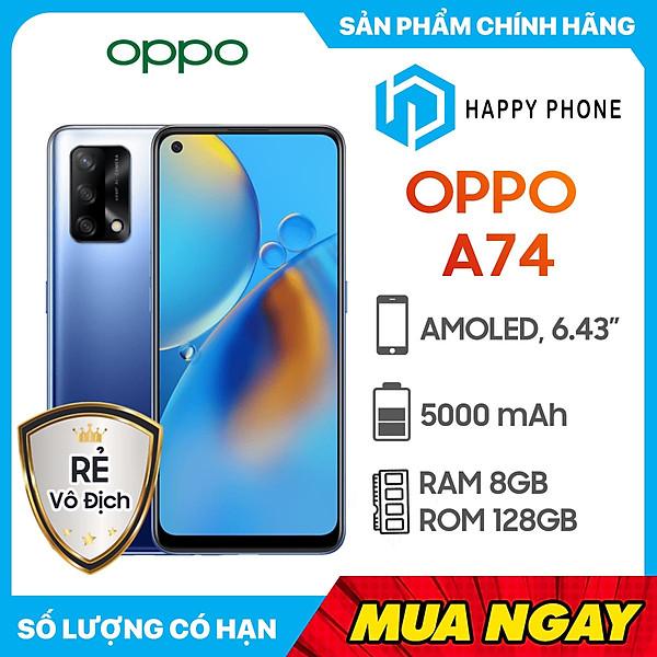 Điện Thoại Oppo A74 (8GB/128GB) –  Hàng Chính Hãng
