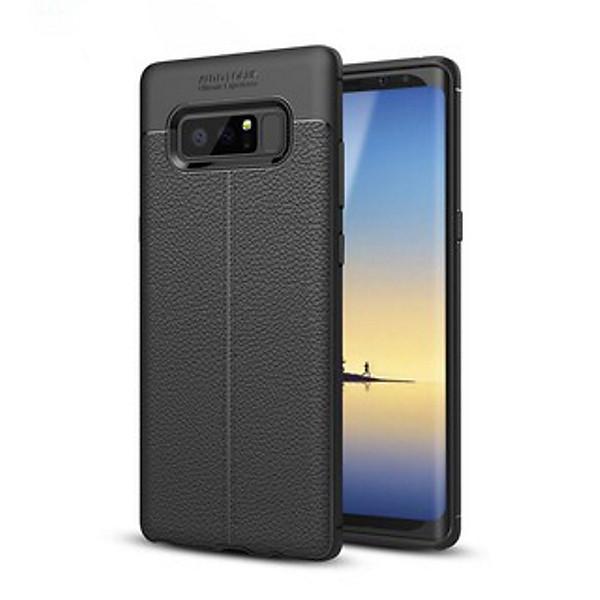 Ốp Lưng cao cấp Auto Focus Vân da cho điện thoại SAMSUNG: Note 8/ Note 9 (Màu Đen) – Hàng nhập khẩu