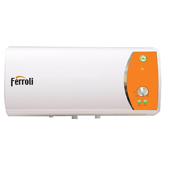 BÌnh nước nóng Ferroli Verdi TE30L , 3 công suất, có chống giật 2.500W – Hàng chính hãng