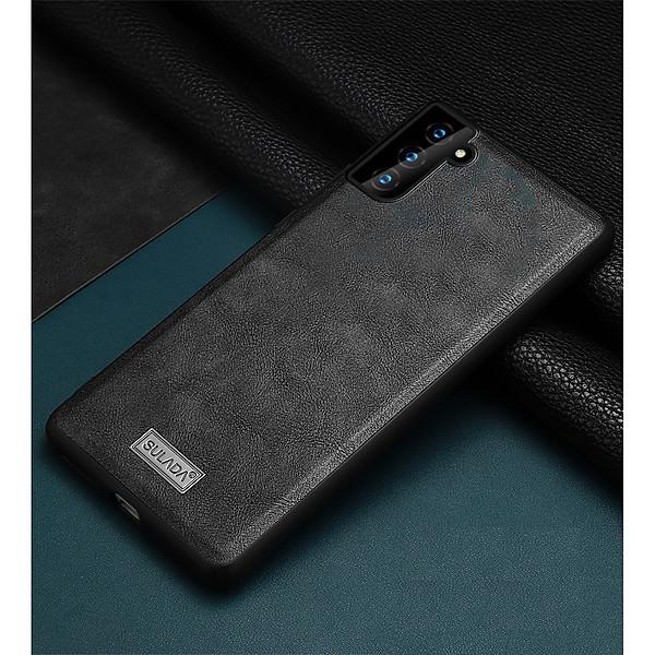 Ốp lưng Samsung Galaxy S21/ S21 Plus/ S21 Ultra chính hãng SULADA dạng da mềm