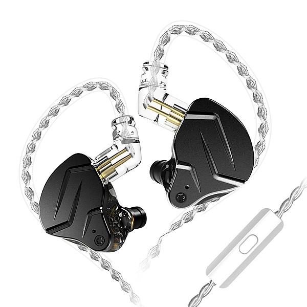 Tai nghe KZ ZSN Pro X – Bản nâng cấp tốt hơn, đẹp hơn có micro – Hàng chính hãng