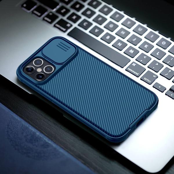 Ốp lưng iPhone 12 Pro Max Nillkin CamShield bảo vệ camera -hàng nhập khẩu