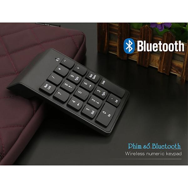 Bàn phím số Bluetooth 5.0 dùng cho laptop, điện thoại, máy tính bảng
