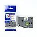 thumb Tape nhãn in tương thích CPT-131 dùng cho máy in nhãn Brother P-Touch (chữ đen nền trong, 12mm)