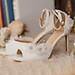 Giày cưới Nghé Art giày cưới hoa ngọc trai 295