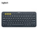 Logitech K380 Wireless BT Keyboard Multi-device Pairing Compatible with macOS Computers iPads iPhones - Grey-2