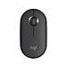 Logitech Pebble Wireless Mouse BT Mouse BT 2.4 GHz USB Receiver Dual Connectivity Slim Optical Computer Mice For Laptop - Black-3