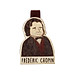 thumb Bookmark gỗ nam châm Frédéric Chopin