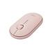 Logitech Pebble Wireless Mouse BT Mouse BT 2.4 GHz USB Receiver Dual Connectivity Slim Optical Computer Mice For Laptop - Black-0