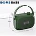 Loa bluetooth không dây mini LANITH bass mạnh Boombass L15 - Tặng cáp sạc 3 đầu – Thiết kế nhỏ gọn, thời trang – Kết nối không dây bluetooth, kết nối USB, thẻ nhớ - LB000015.CAP0001 - Đen-4