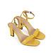 Giày sandal cao gót Sablanca mũi vuông vân cá sấu cao 8cm 5050SN0135