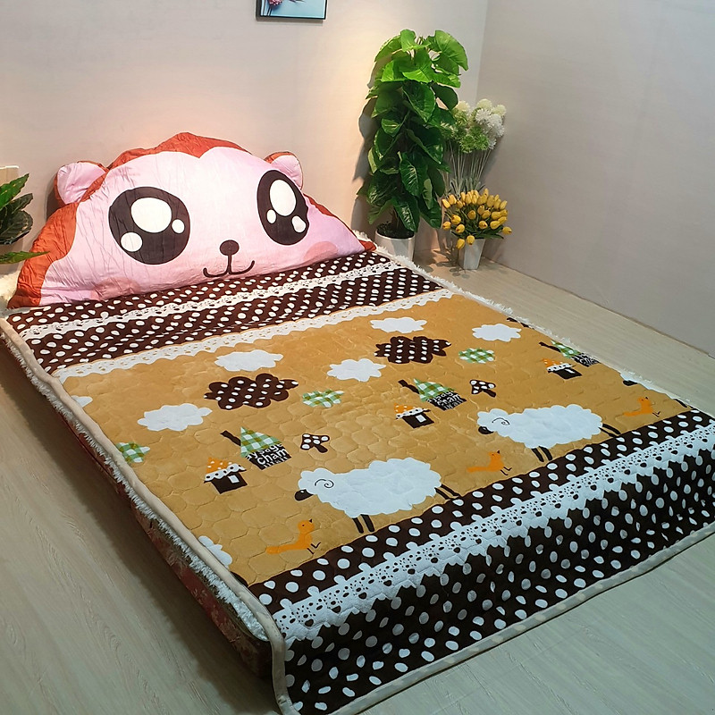 Thảm nhung trải giường đa năng 1m8x2m