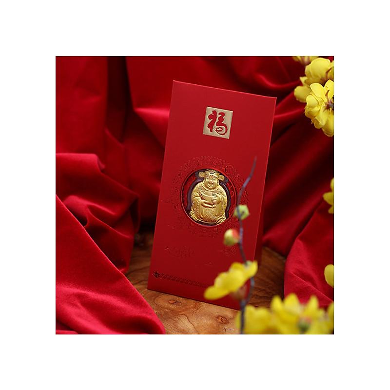 Lì xì thần tài - Vàng 24K Huy Thành Jewelry