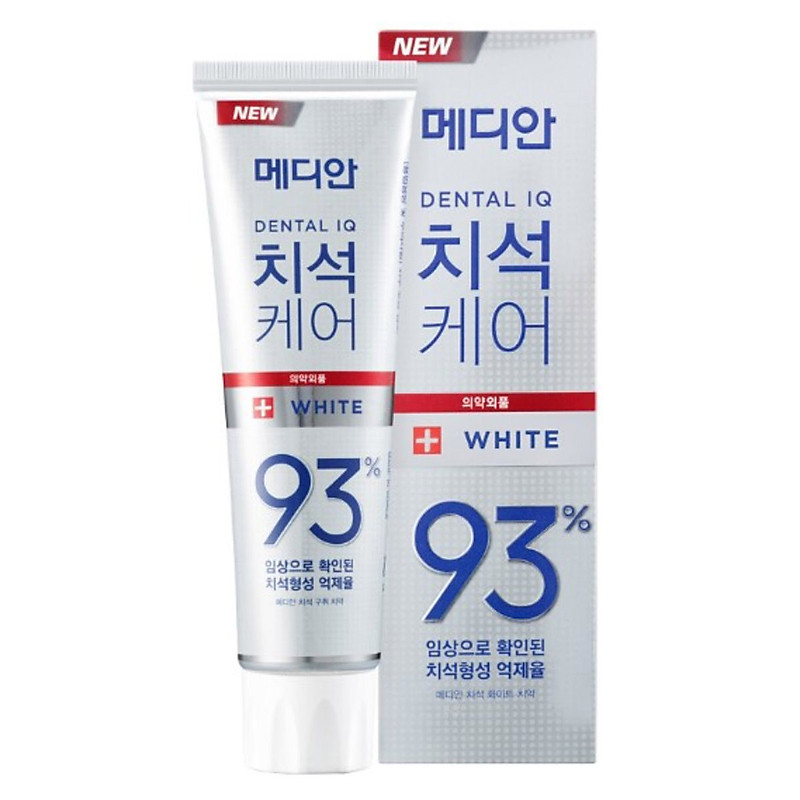 Kem Đánh Trắng Răng Median Dental IQ Original 93% Tooth-Paste 120gr – #Original