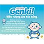 Bộ 2 Gói Tã dán Nhật cao cấp Genki (S, 72 miếng) 3