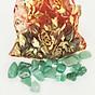 Túi Tài Lộc đá Thạch Anh Xanh 100g 4