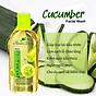 Sữa rửa mặt sạch nhờn giảm mụn Cucumber Facial Wash 100ml 5